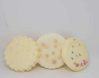 Cookie Biscuit Pack 1 Scented Soy Wax Melts