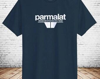 Vintage Brabham BT49 Retro Motorsport F1 Racing Adult Cotton T-Shirt