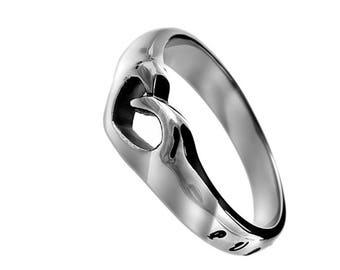 "Mini Heart Ring ""Purity"""