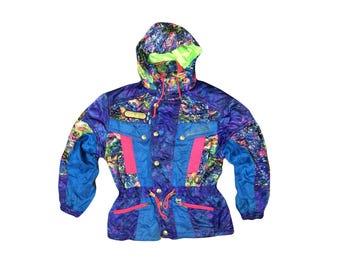 Vintage 80s ELLESSE Ski Jacket