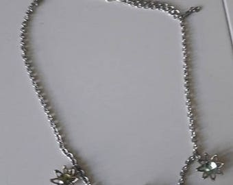 Flexible chain tiara