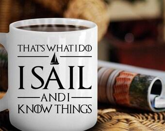 Sailing Mug, Sailing Gift, Sailing Print, Sailing Art, Sailing tshirt, Sailing Boat Gift, Sailing Bracelet, Boating Lover Gift, Sailboat