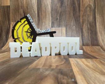 Deadpool Pen/Pencil holder desk organizer - 3D Printed.