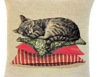 Cat Tapestry Pillows