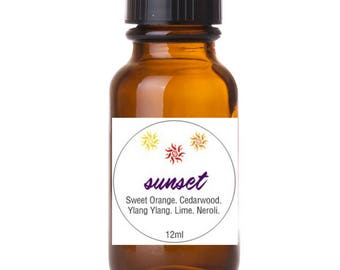 InLaKesh Aromatics Sunset Essential Oil Blend