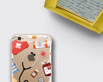Women Doctor Gift Phone Case Medical Student Graduation Gift iPhone 7 Case - Medical School Samsung Galaxy S8 Plus Case iPhone 8 Plus Case