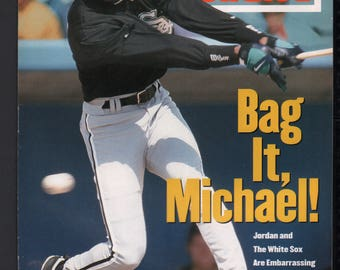 Vintage Magazine - Sports Illustrated : March 14 1994 - Michael Jordan