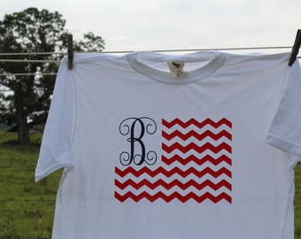 July 4th Monogram Shirt!