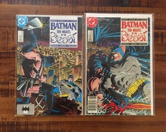1988 Batman #419 and #420, Ten Nights of the Beast Comic Books/ Nm-Vf/ Choose One or Both for a Discounted Price!!!