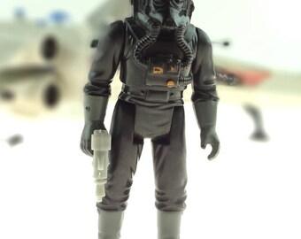 Tie Fighter Pilot Star Wars Vintage Action Figure 1982