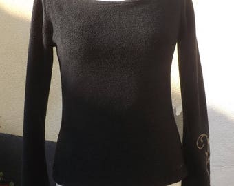 """""""Luna"""" sweater a little Faerie Sanlivine Black Fleece"""