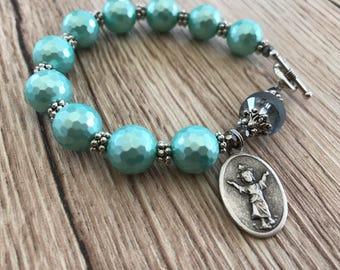 Rosary Bracelet Divine Child Jesus