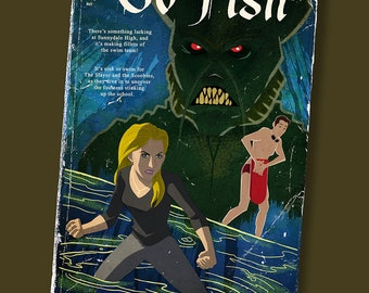 Faux Paperback Novel Cover - Go Fish