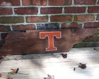 Wooden Tennessee Power T