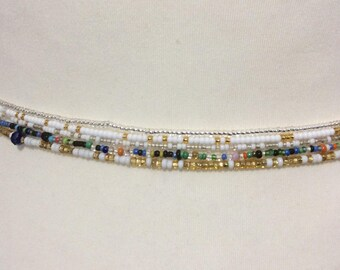 African Waist beads, 5 X  Waist beads , Jewelry making