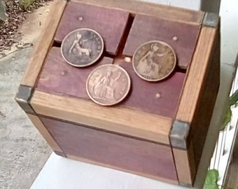 Three Penny ..puzzle box available  early March 2018