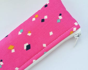 Pencil Case - Small Pouch - Cosmetic Pouch