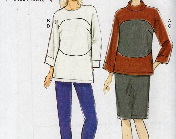Vogue 9064 Free Us Ship Sewing Pattern Top Pants Skirt Size 14/22 14 16 18 20 22  Bust 36 38 40 42 44  Plus (Last size left) Uncut