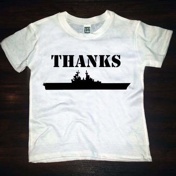 THANKS-giving NAVY tee