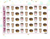 Dunkin Donuts Planner Stickers