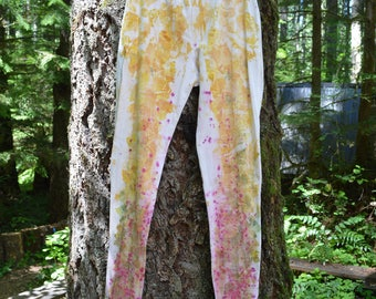 Naturally Dyed Leggings