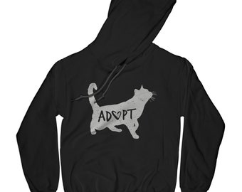 Volunteer hoodie cats hoodie save animals hoodie motivational hoodie inspirational hoodie kitten hoodie husband gift wife gift     APV3