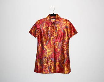 VINTAGE 60's Paisley Shirt