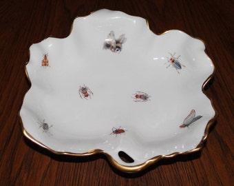 Vintage Limoges France Porcelain Candy Dish Ebeling & Reuss Co