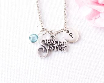 Sister necklace, sister gift, gift for sisters, sisters necklace, gift for sister, sister jewelry, sister birthday gift,