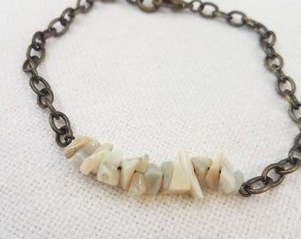 Australian Opal Chip Bracelet