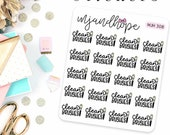 Clean Makeup Brushes Stickers