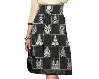 Indian Pakistan Bollywood Kurta Kurti Designer Women Ethnic Off White Georgette Dress Top Tunic