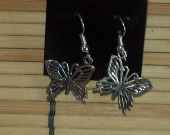 Tiny Little Butterfly Earrings FREE SHIPPING!