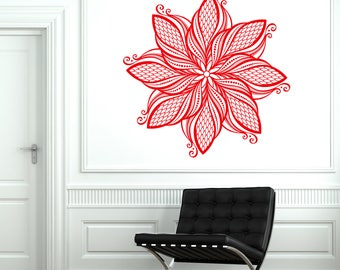 Wall Decal Mural Enso Circle Mandala Meditation Yoga Studio Art (#2740dn)
