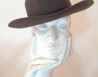 Vintage Law Enforcement 3xxx Beaver Fur Hat/ Small Size/ perfect Unisex Hat