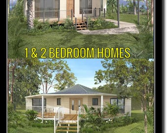 House Design Book Small and Tiny Australian and International Home Plans - house plans
