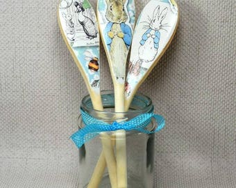 Peter Rabbit Nursery Spoons, Set of 3
