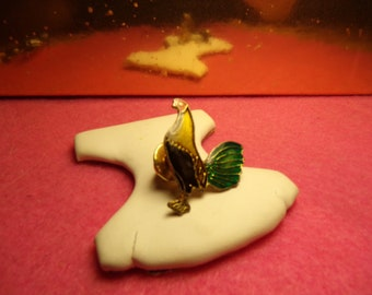 Vintage Rooster Pin