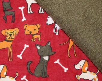 Puppy dogs! Dog Blanket, Pet Blanket, Fleece Blanket, Flannel Blanket