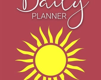 My Daily Planner Bullet Journal - Printable Pages PDF Instant Download - Goal Tracker - Calendar Diary - Success Planner - 366 pages