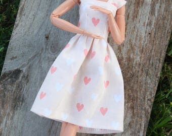 I Heart You~Barbie Clothes, Barbie Dress, Doll clothes, 11.5 inch doll clothes