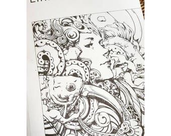EIRENESigned Coloring Book By Nicholas F Chandrawienata Filbert