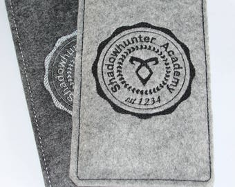 Shadowhunters inspired cell phone pouch