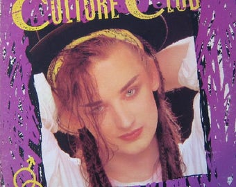 CULTURE CLUB Kissing To Be Clever LP Vinyl Record 1982  Boy George New Wave Excellent Lyric Inner