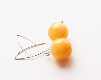 Handmade Baltic amber earrings 7g
