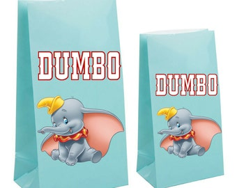 Dumbo Party Favor gift Bag~ Dumbo Inspired Decorations & Decor