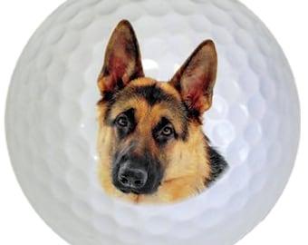 3-Ball Gift Pack (German Shepherd Logo) Golf Balls