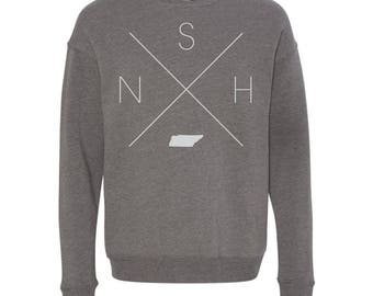 Nashville Sweatshirt - NSH Home Sweater, Tennessee Off Shoulder Sweatshirt