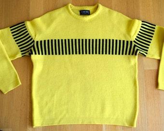 Yellow sweater | Etsy