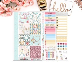 Alice Weekly Planner Stickers for Personal Planners / Weekly Sticker Kit